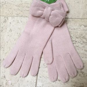 KATE SPADE LOVELY WINTER GLOVES IN BABY PINK💕🌷